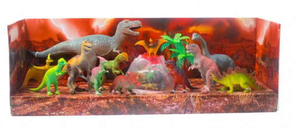 Kids 30 Piece Dinosaur Figure Toy Set for Boys & Girls Jurassic Megasaurs Birthday Xmas Present